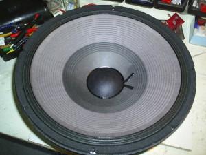 PA-luidspreker na reparatie